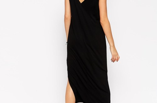 ASOS Tank Midi Dress Side Splits