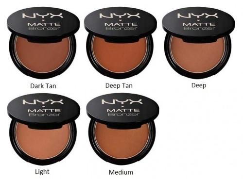NYX Matte Bronzer-Shades