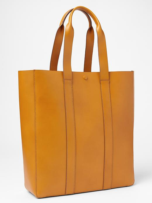 Leather-Tote-Gap