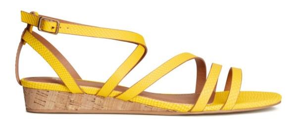 Cork-Wedge Sandal H&M