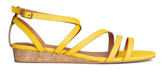 Cork-Wedge Sandal H&M