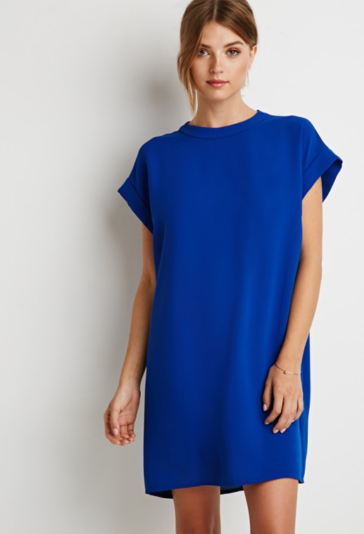 Textured Shift Dress Forever 21