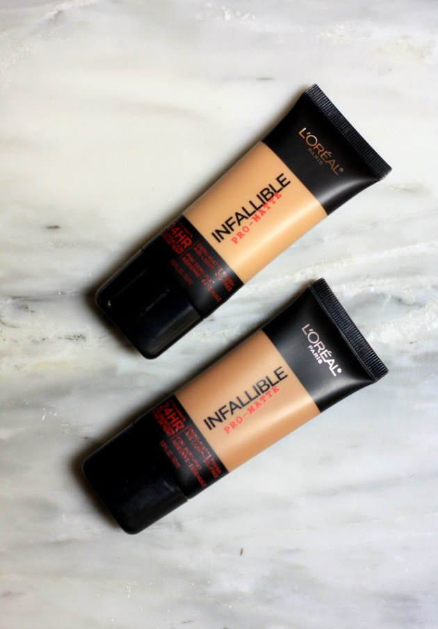 L'Oreal Paris Infallible Pro-Matte 24 Hr Foundation-2