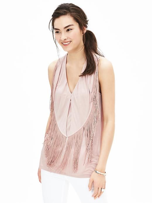 Banana Republic Fringe Tank