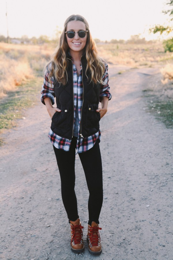 plaid top the daybook blog