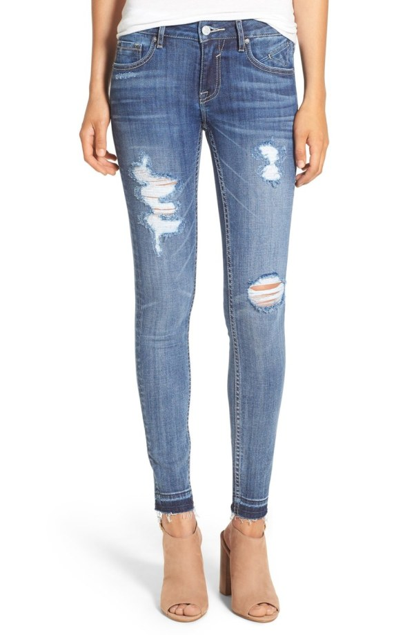 'Chelsea' Destroyed Skinny Jeans