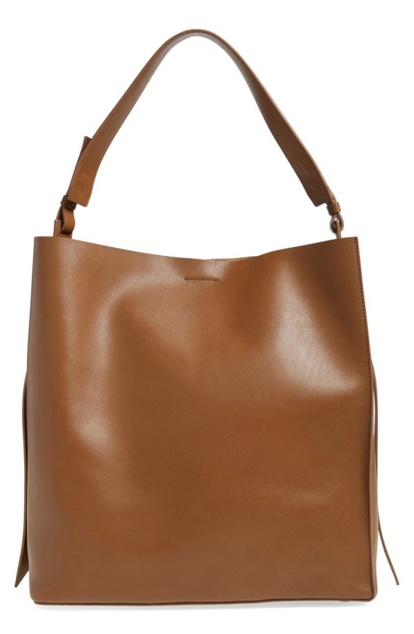 'Paradise North-South' Leather Tote