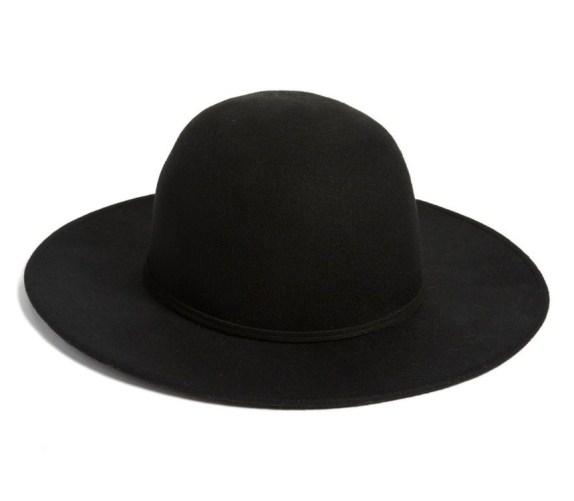 Wool Round Crown Hat