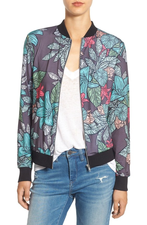misguided floral print jacket2