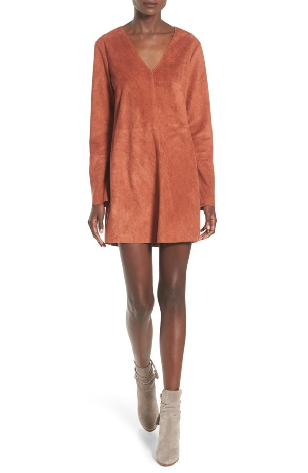 astr-faux-suede-shift-dress