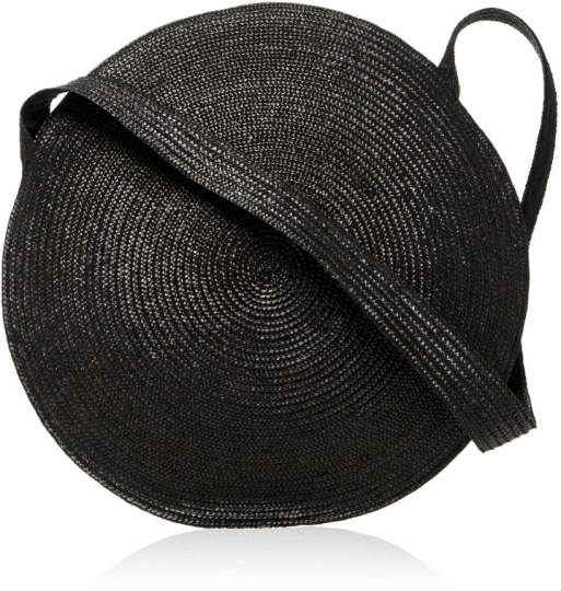SAMUJI CIRCLE STRAW BAG