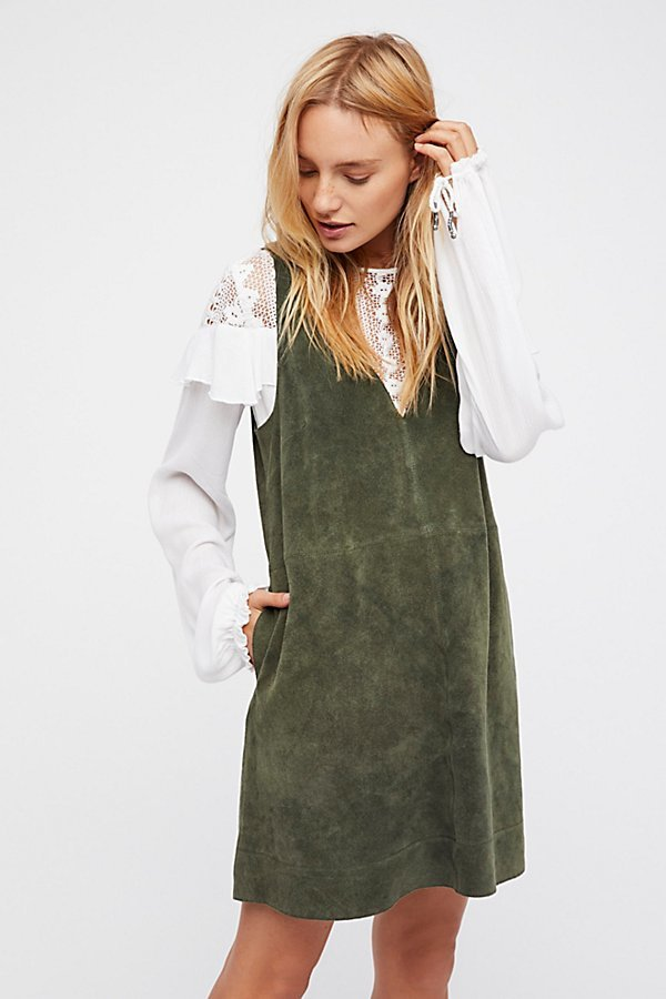 Retro Love Suede Dress by Free People