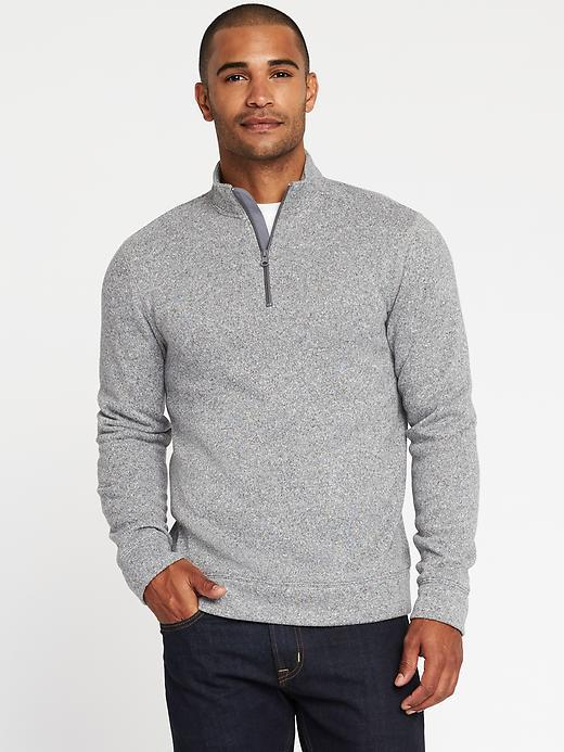 Old Navy Sweater-Fleece Zip Pullover for Men