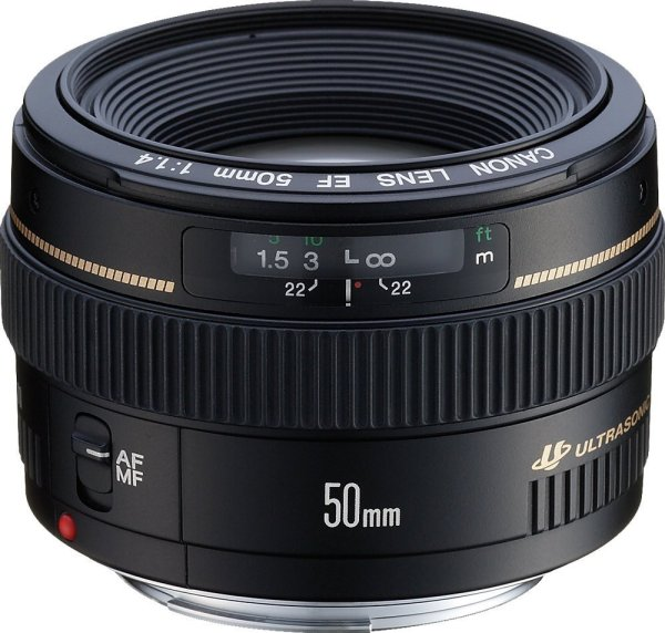 Canon EF 50mm f1.4 USM Telephoto Lens