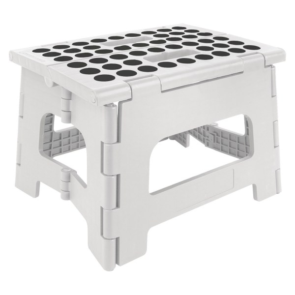 Kikkerland Rhino Step Stool - White
