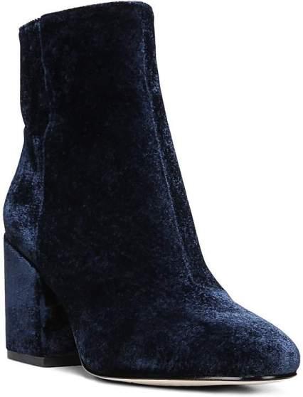 Sam Edelman Taye Velvet Block Heel Booties