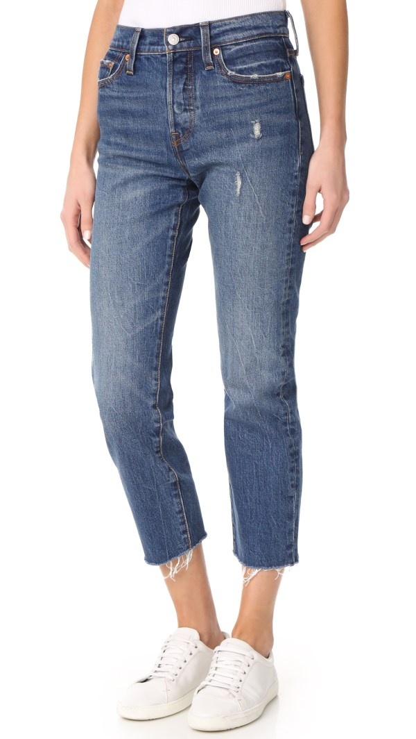 Levis Wedgie Straight Jeans
