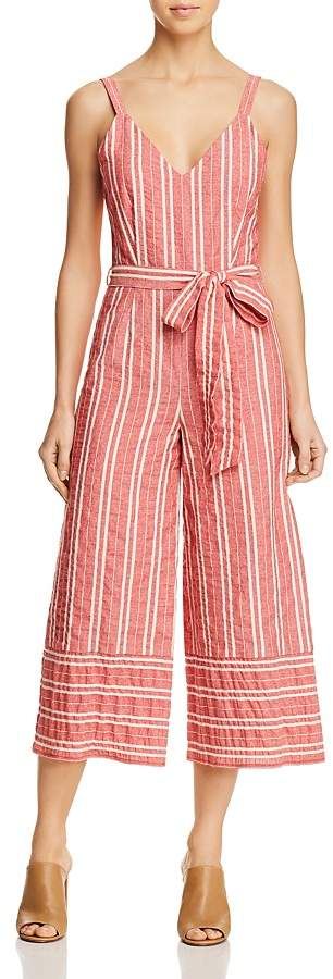 Lost + Wander Robin Striped Wide-Leg Jumpsuit