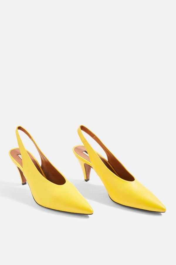 Jemma Pointed Slingback Shoes