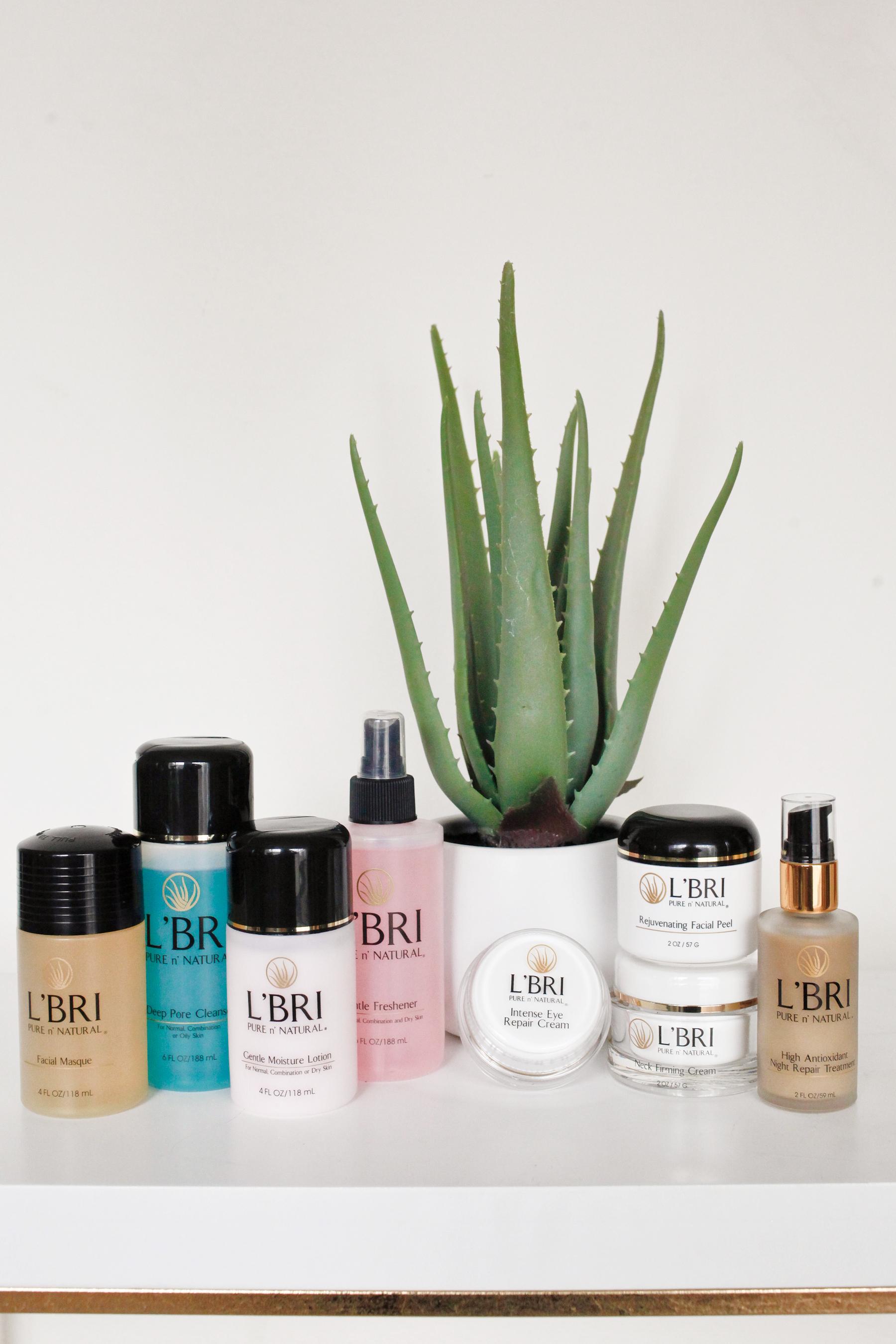 L' BRI Pure N Natural Skincare System