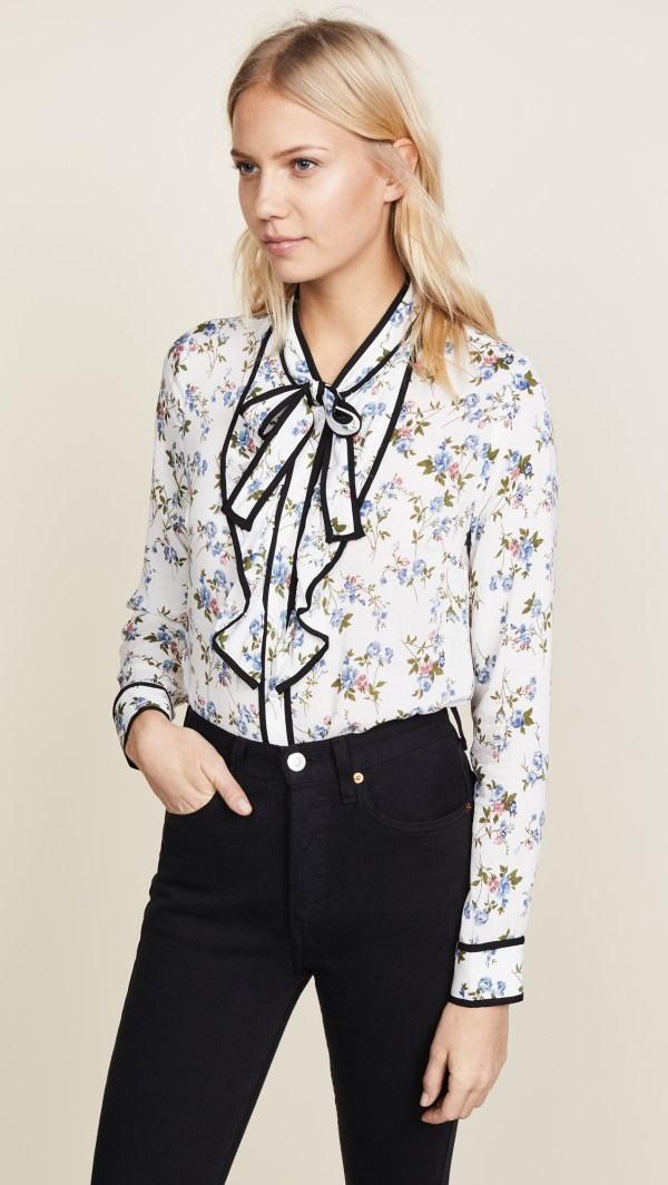 ReNamed Floral Blouse