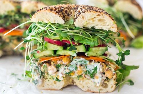 Spring Goddess Sandwich