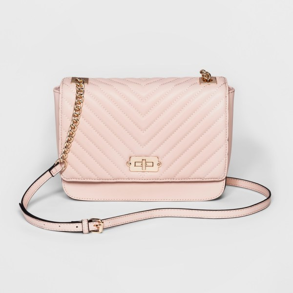 A New Day Quilted Crossbody Bag