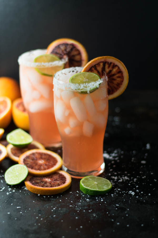 Blood Orange Gose Margarita