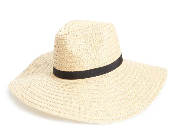 BP Wide Brim Staw Hat