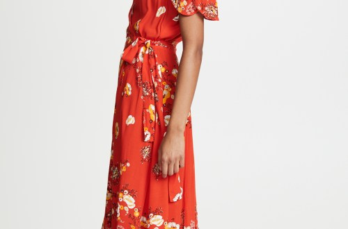 Free People Gorgeous Jess Wrap Dress