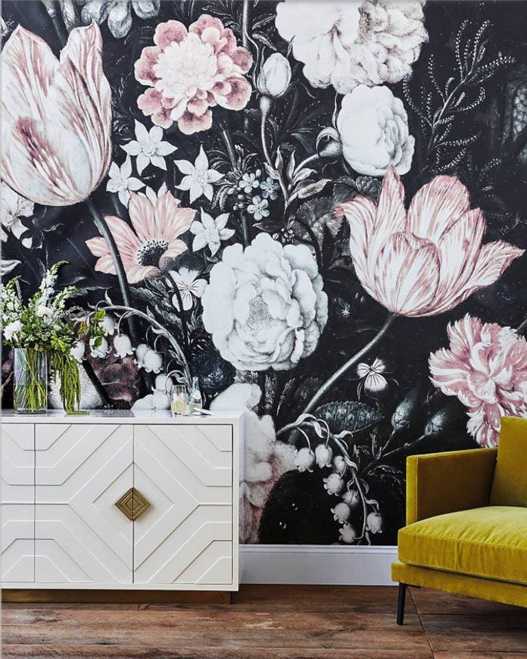 A Case For Floral Wallpaper