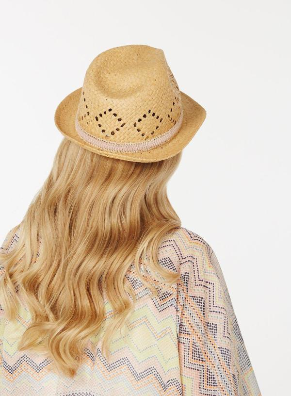 Dorothy Perkins Natural Lead In Trilby Hat