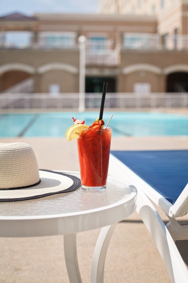 Bloody Mary Poolside