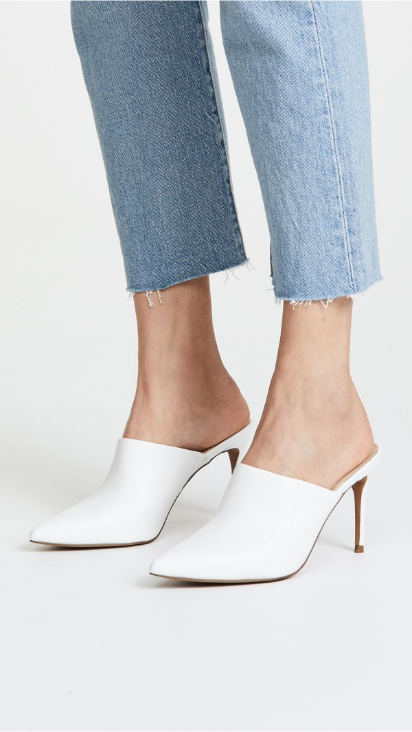 Steven Craft Point Toe Mules