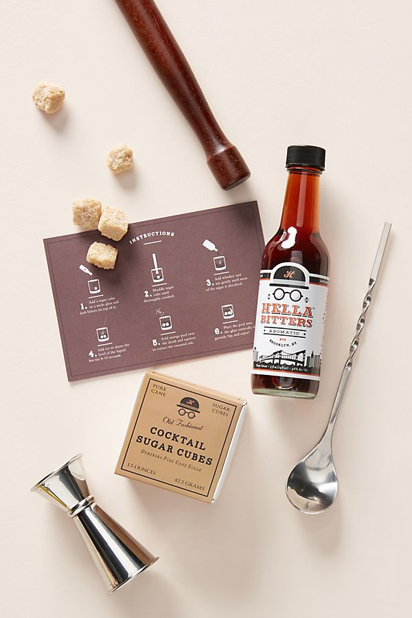 Hella Cocktail Co. Old Fashioned Cocktail Kit