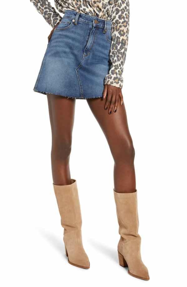 STS Blue Emily Denim Miniskirt