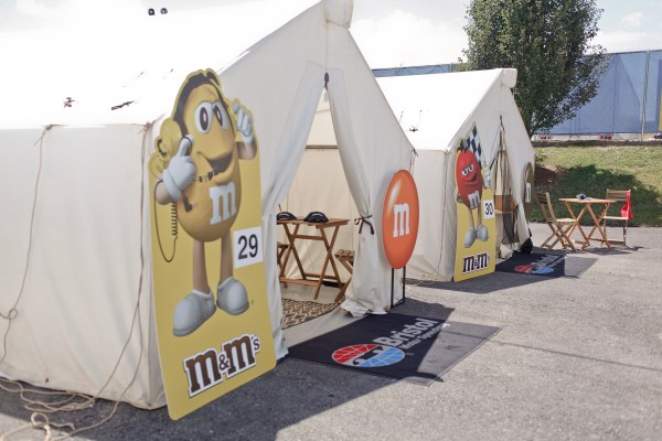 M&Ms GlampGrounds with NASCAR