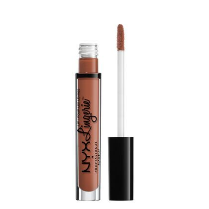 Nyx Professional Makeup Lip Lingerie Liquid Lipstick in Seduction