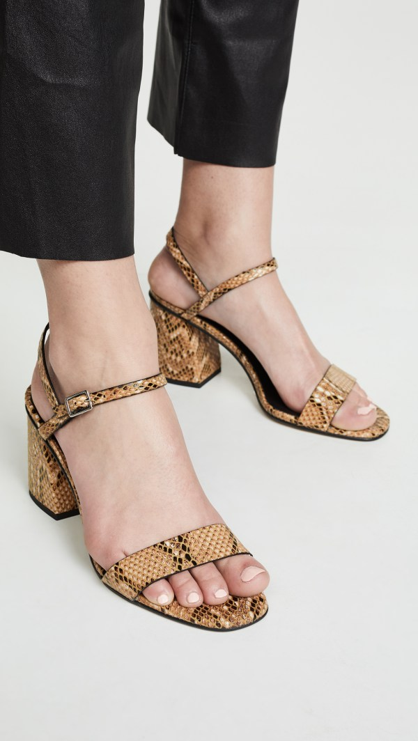 Free People Liv Block Heel Sandals