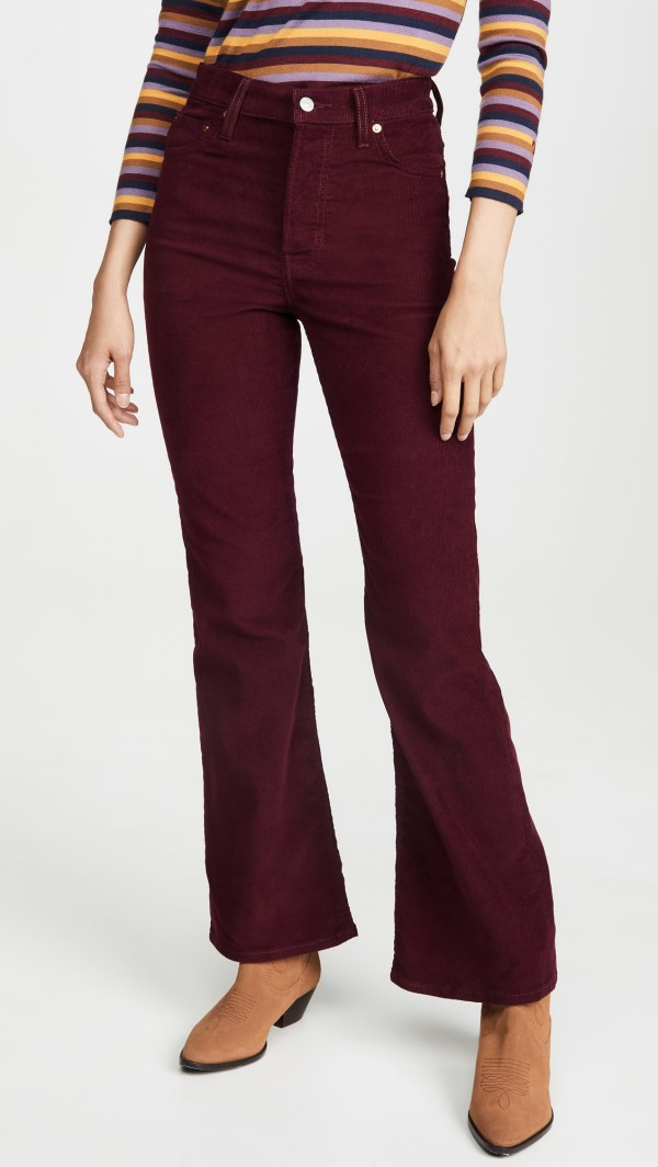 Levis Ribcage Flare Jeans