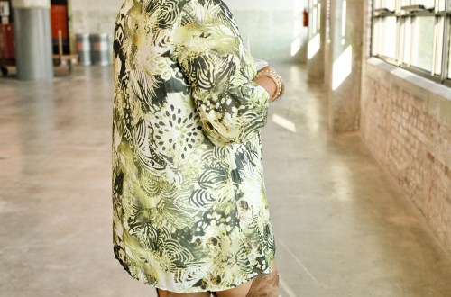 Mini Dress Thigh High Boots