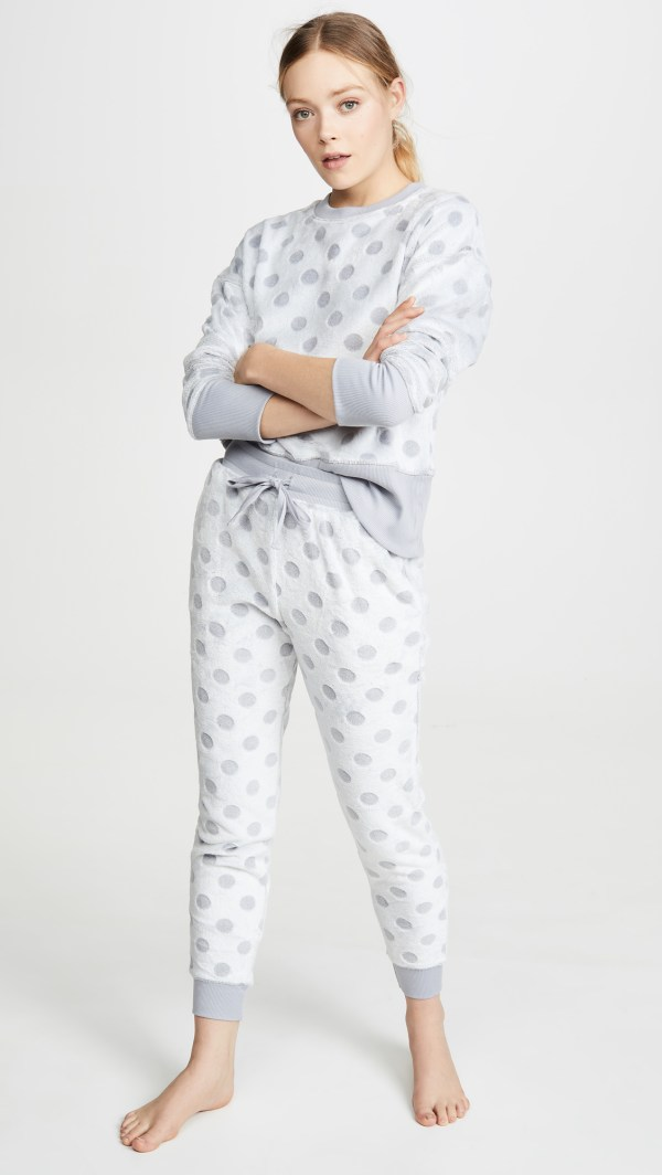 Emerson Road Frosted Dot PJ Set