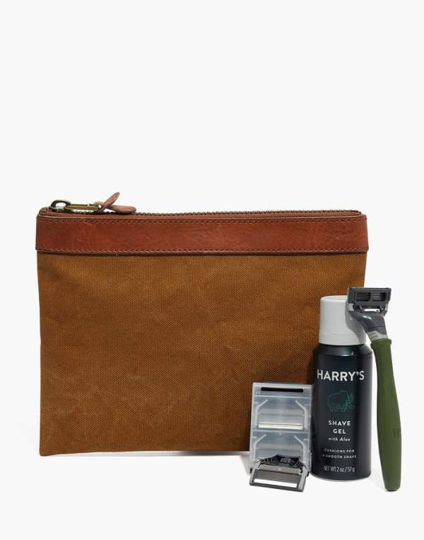 Madewell x Harry's Shaving Kit