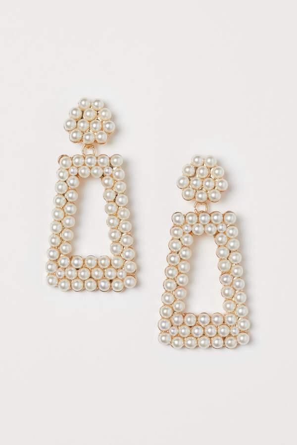 H+M Beaded Earrings
