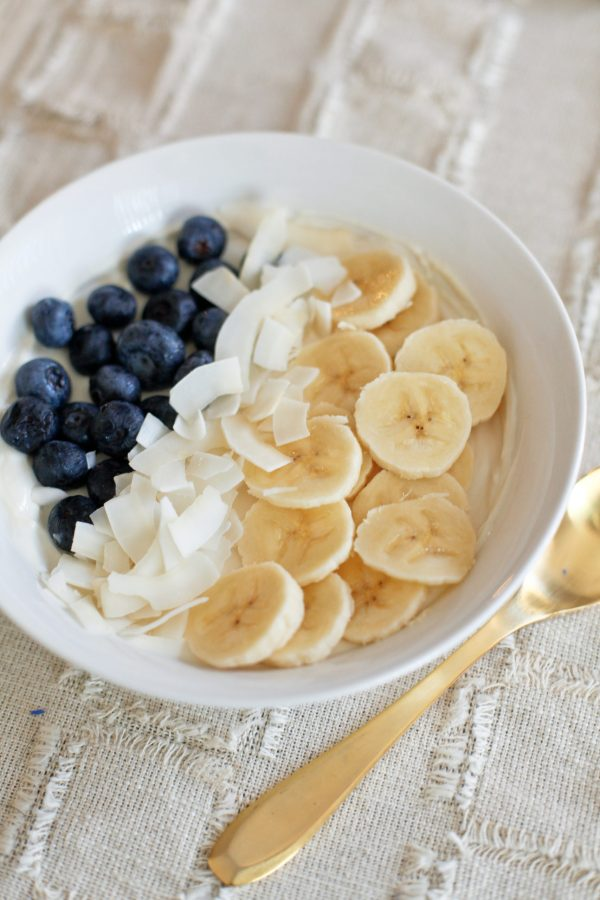 Blueberry Banana Yogurt Bowl
