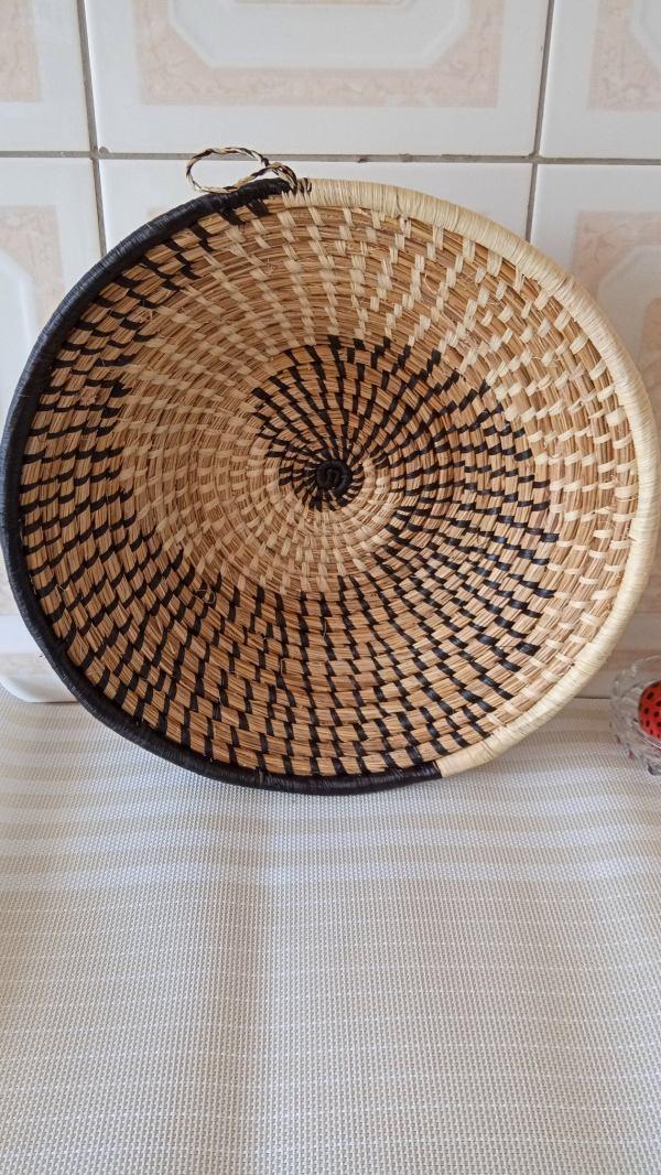 Woven Sisal Basket