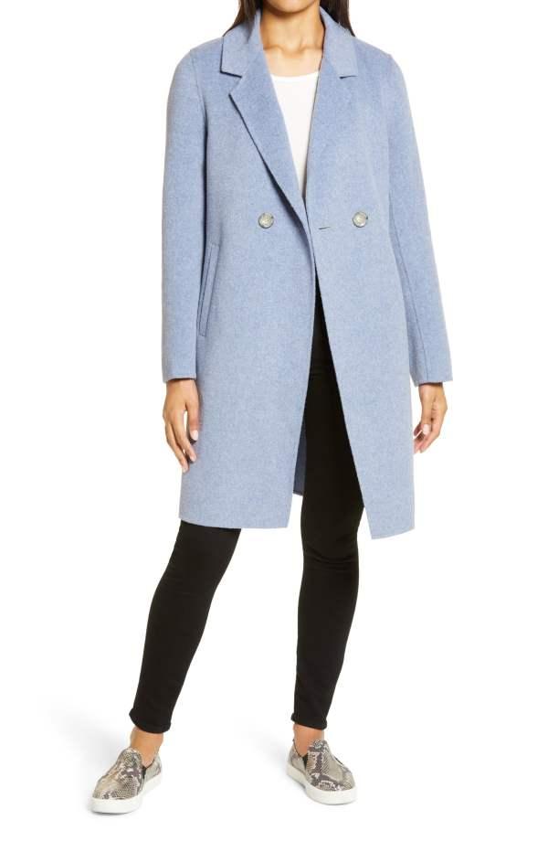 Sam Edelman Notch Collar Coat
