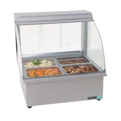 Commercial Kitchen Hot Box Wood Top For Island Food Service And Buffet Professional Ltd