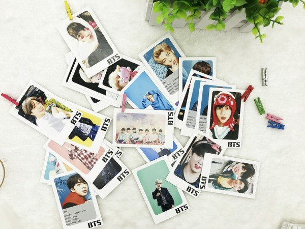 bts lomo cards pack