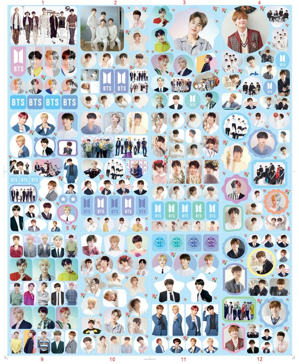 bts_sticker diy